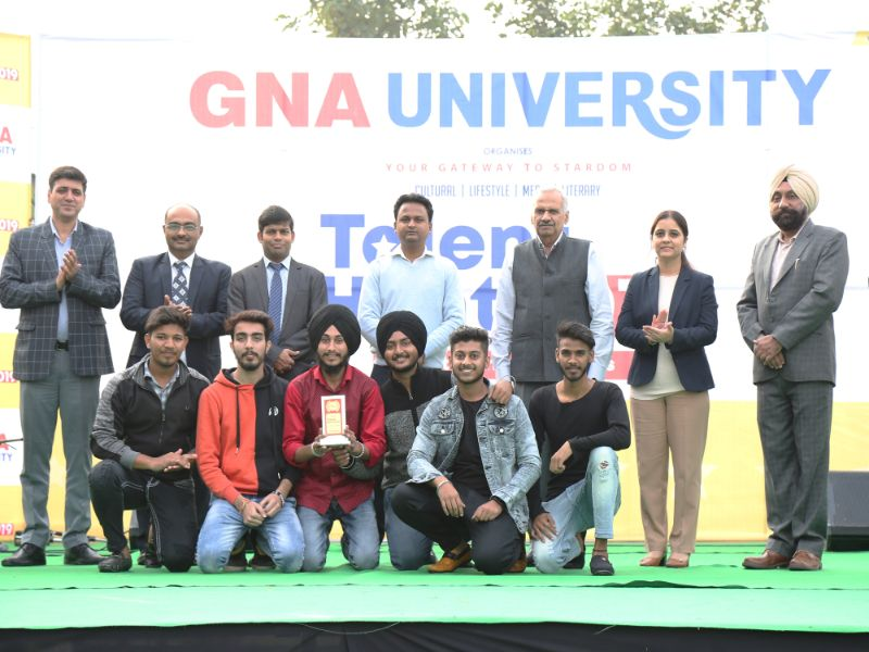Student's talent at its creative best during GU Talent Hunt