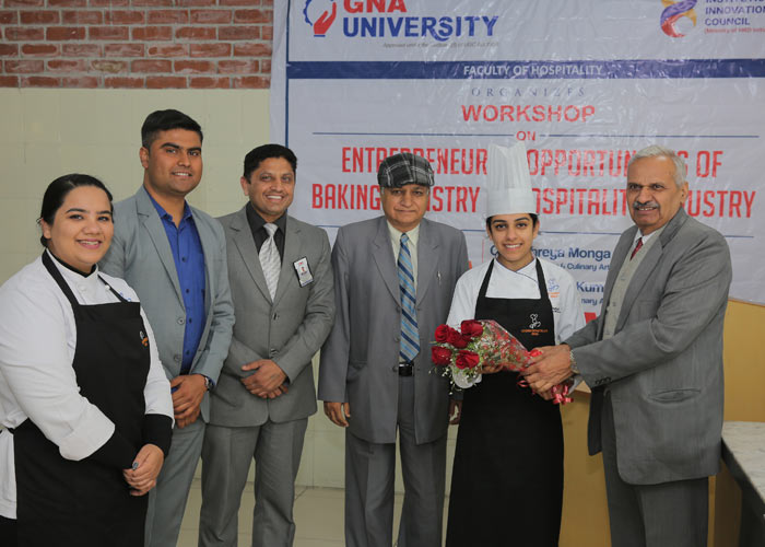 Workshop On Entrepreneurial Opportunities Of Baking & Pastry In Hospitality Industry