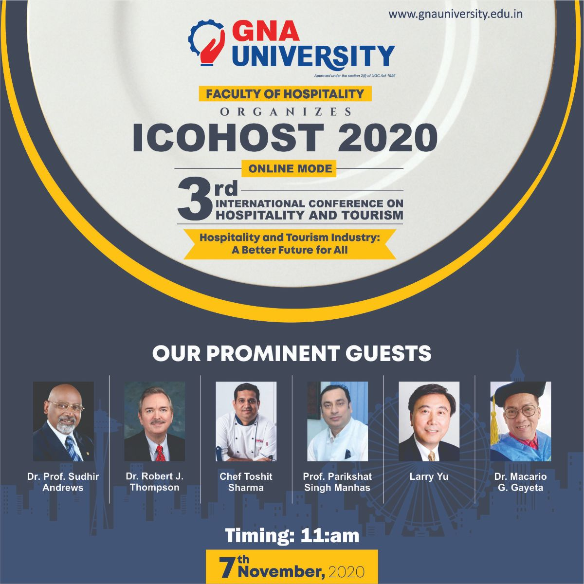 ICO HOST - GNA university
